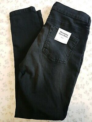 Size 10 Maternity Skinny Jeans New With Tags Black