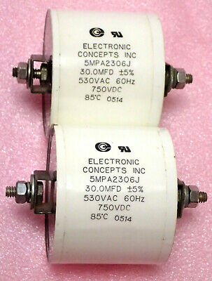 Electronic Concepts Inc 3MPA2137E1 3MP Series AC Filter Capacitor