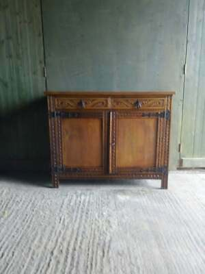 Antique Victorian C.1890's Oak Arts and Crafts sideboard,
