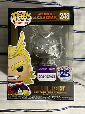 Funko Pop! My Hero Academia - All Might Chrome - Funimation NYCC 2019 Exclusive