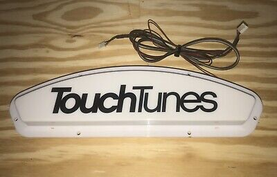 "TouchTunes Jukebox Allegro ""TouchTunes"" Light Up Display"