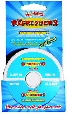 Tetrosyl Refreshers Lemon Gel Pot Air Freshener GPRF Swizzel Top Quality Product