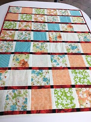 Quilted Baby Easter Blanket