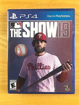 MLB 19: The Show, Very Good Condition, Ships Asap! (Sony PlayStation 4, PS4)