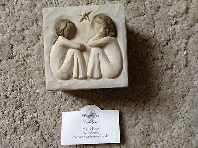 Willow Tree Friendship Keepsake Trinket Box