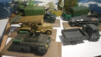 1/43 Ixo Altaya Vehicules Militaires Avec Petits Problemes