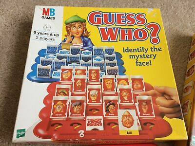 2000 Guess Who By Mb / Hasbro Games