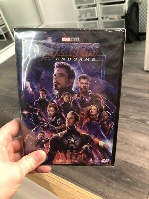 Avengers End Game DVD Brand New Sealed and Never Opened