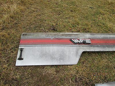 White 4-175 tractor hood side panel, right side panel