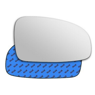 Right Driver Side Wing Door Mirror Glass for CHEVROLET AVEO 2008-2011 Stick On