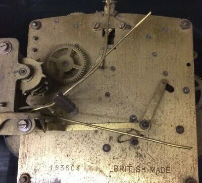 Clock Movement For Spares And Repairs