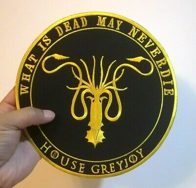 House Martell Spear pierced sun Game of Thrones Embroidered Iron-On Sew patches