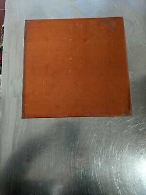 "1/16"" Flat Copper Sheet Plate 12"" x 12"" (.062 thick)"