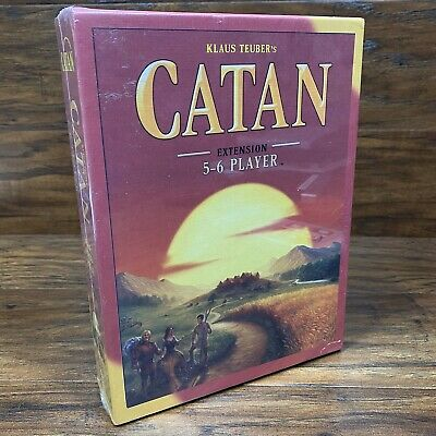 Catan Extension 5-6 Player Board Game Expansion Klaus Teuber 3072 NEW Settlers