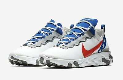 New In Box Nike Air React Element Trainers Just Do It Shoes Sneakers Men 2019