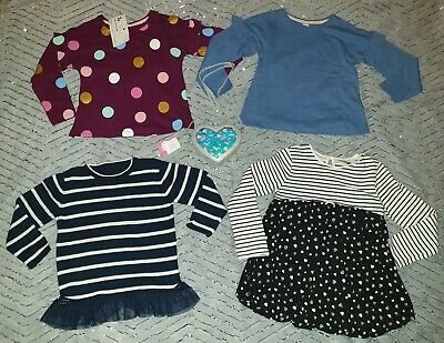 Lovely Bundle Of Girls Clothes/Bags, X3 Bnwt, Age 5-6 Years, By Tu, Monsoon
