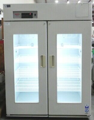 R165478 Sanyo LabCool MPR-1410 Pharmaceutical Refrigerator w/ Outlets