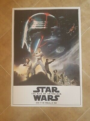 Star Wars The Rise Of Skywalker 3D Real 3D poster