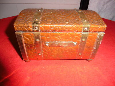 Antique Arts & Crafts Copper Tea Caddy