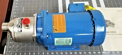 """1 ¼"""" X 1"""" 3 Stage NSF Stainless Xylem Goulds End Suction Water Pump 1HP/3P [A8S4"""