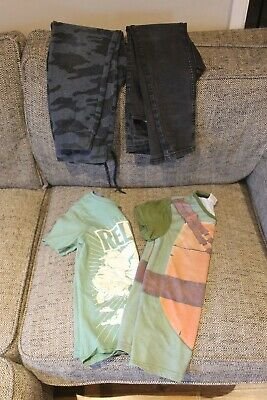Bunde of boys clothes age 9-10 years, jeans, trousers, t shirts - 4 items