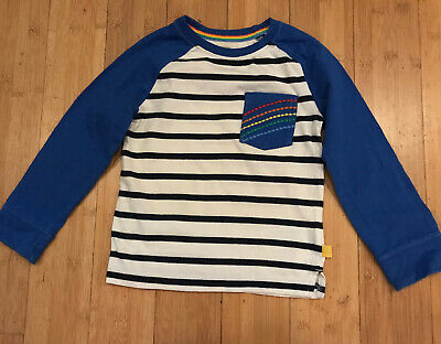 Little Bird Jools Oliver Blue And White Stripes Top Age 2-3