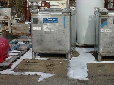 370 gallon STAINLESS STEEL TANK TOTE IBC TRANS STORE