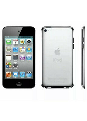 APPLE IPOD TOUCH 4th Generation 8GB - Black - A1367 & USB Lead - WiFi Bluetooth