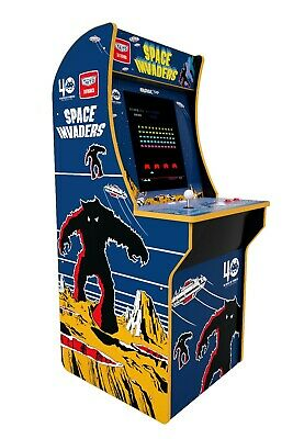 Space Invaders Arcade Machine Arcade1UP 4ft. Brand New. Ready To Ship!