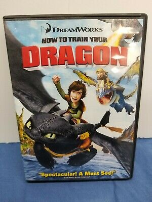 DreamWorks How to Train Your Dragon (DVD, 2010) Good Condition
