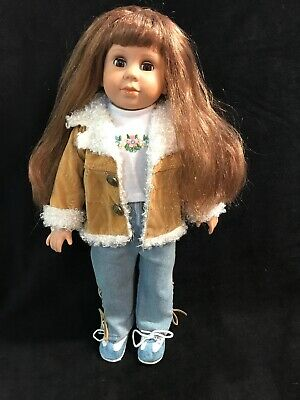 """Kingstate 18/"""" Vinyl /& Cloth Doll /""""The Friendship Kids Collection/"""" New in Box"""