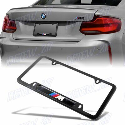 BMW ALL Series EUROPE Standart M Performance License Plate Frames 2 PC