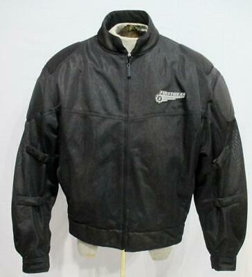 FIRST GEAR Mesh Tex II Padded MOTORCYCLE Riding Jacket   Mens XL