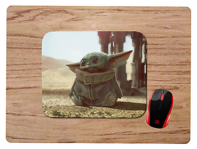 BABY YODA MOUSEPAD MOUSE PAD HOME OFFICE GIFT STAR WARS THE MANDALORIAN design2