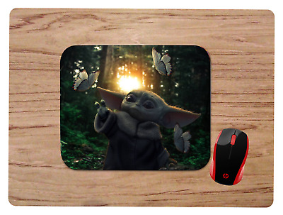 BABY YODA MOUSEPAD MOUSE PAD HOME OFFICE GIFT STAR WARS THE MANDALORIAN design3