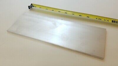 "6061 Aluminum Flat Bar, 1/4"" Thick x 4"" Wide x 11"" long, Solid Stock, Machining"