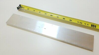 "6061 Aluminum Flat Bar, 3/8"" Thick x 2"" Wide x 12"" long, Solid Stock, Machining"