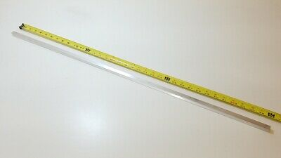 "6061 Aluminum Square Bar Rod, 1/2"" Thick x 1/2"" Wide x 36"" long, Solid Stock"