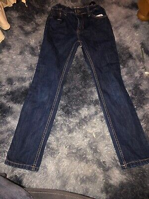 Boys Age 10-11 Years Slim Leg Indigo Jeans By Penguin