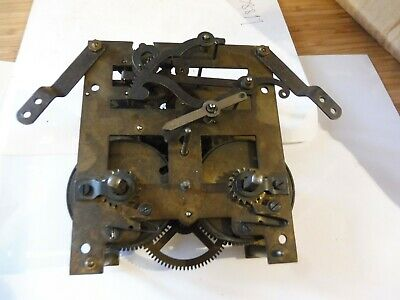 Antique Brass Complete Windup Clock Movement