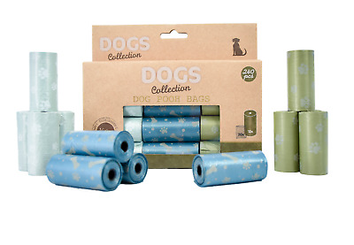 Biodegradable Dog Puppy Poop Bags Pooper Scooper Waste Rolls Disposable Eco Pet