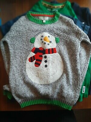 Boys Winter Clothing Bundle Next Age 5-6 Years Christmas Jumpers Xmas Next Mint