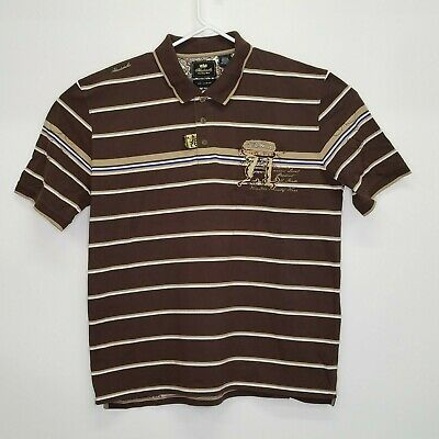 Akademiks Men/'s $52 Vine Rugby Slim Fit Polo Shirt Size 2XL