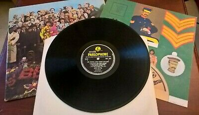 The Beatles sgt peppers mono 1st press very good 637-1