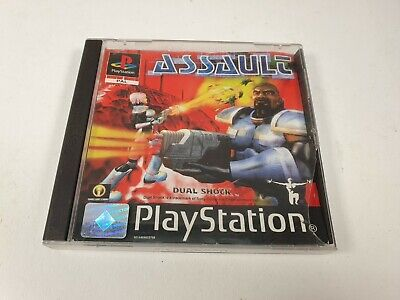 Assault Rare PS1 Game Black Label Collectable PlayStation Game