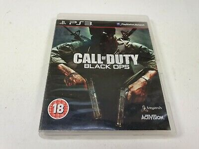 Call Of Duty Black Ops, Sony Playstation 3, Ps3 Game