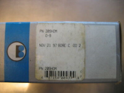 BARDEN 209 HDM SUPER PRECISION BEARING Set (a pair) Spindles, etc.