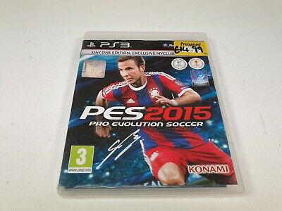 PES 2015 Pro Evolution Soccer Day One Edition Sony PlayStation 3 PS3 Game