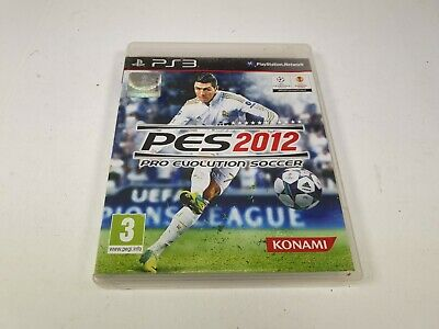 PES Pro Evolution Soccer 2012 for Sony PS3 PlayStation 3 UK PAL
