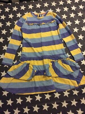girls marks and spencer jersey dress age 6-7